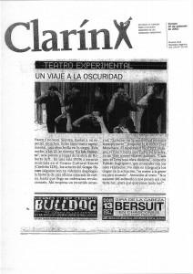 Clarín 20 de sep de 2002