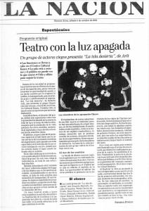 La Nación 5 de Octubre de 2002